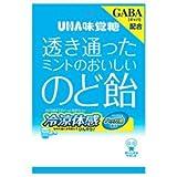 UHA味覚糖 透き通ったミントのおいしいのど飴 92g×6袋入×(2ケース)