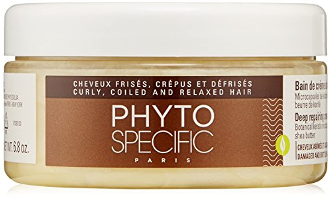 リダクター宿泊相反するPhytoSpecific Deep Repairing Cream Bath 200ml by PhytoSpecific