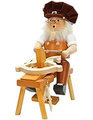 Alexander Taron Christian Ulbricht Decorative Wood Carver Incense Burner
