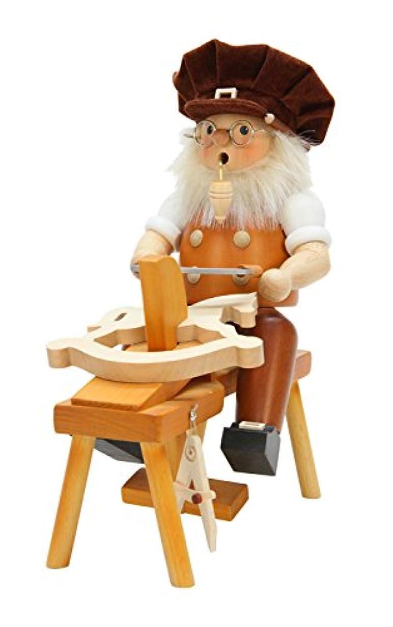 飛ぶ洞窟ホールAlexander Taron Christian Ulbricht Decorative Wood Carver Incense Burner