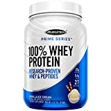 MuscleTech Prime Series 100% Whey Protein Powder, 25g Premium Protein, Research Proven Whey & Peptides for Faster Absorption,