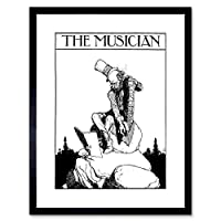 The Musician Heath Robinson Framed Wall Art Print