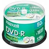 maxell 録画用 DVD-R 標準120分 16倍速 CPRM プリンタブルホワイト 50枚スピンドルケース DRD…