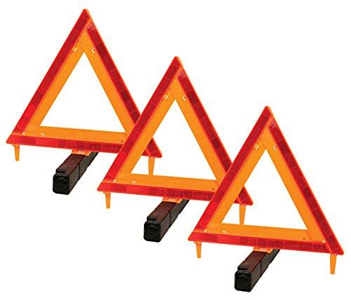 Performance Tool W1555 デラックス ロードサイド 緊急アシスタンス DOT Reflective Warning Triangle - 3 pack W1498