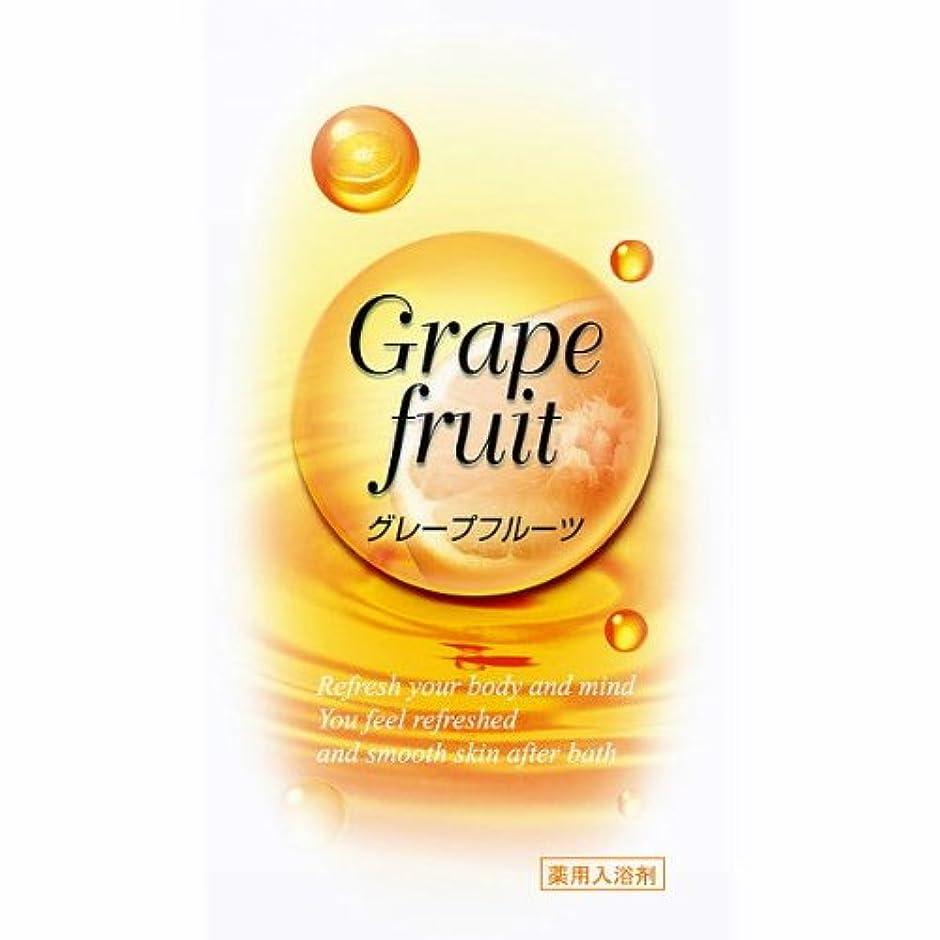影なしで洪水トプラン入浴剤 グレープフルーツの香り