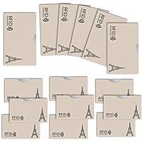 LOE カードケース RFID 磁気 スキミング 防止 クレカ & 通帳 サイズ