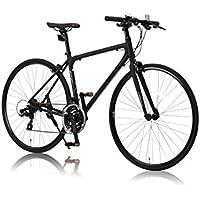 CANOVER(カノーバー) クロスバイク 700C シマノ21段変速 CAC-021 (VENUS 470mm) 特殊加工 アルミフレーム フロントLEDライト