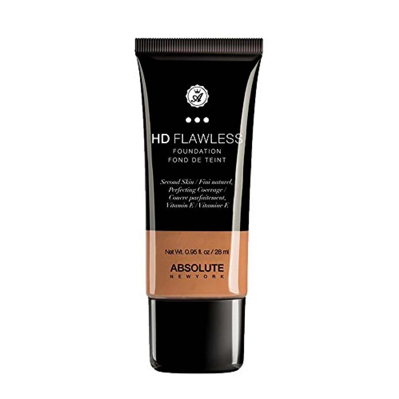 残基毛細血管レッスン(3 Pack) ABSOLUTE HD Flawless Fluid Foundation - Caramel (並行輸入品)