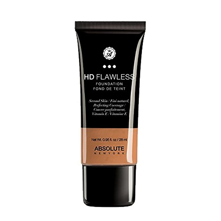 (3 Pack) ABSOLUTE HD Flawless Fluid Foundation - Caramel (並行輸入品)