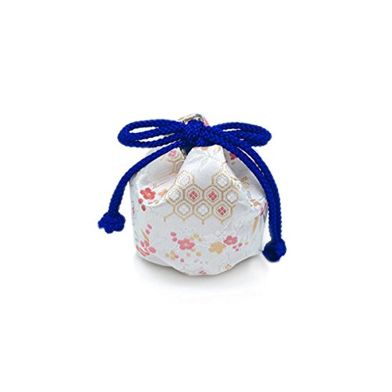 花嫁送信するお風呂を持っている御所袋 小 キンラン 白系
