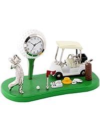ミニチュアクロックコレクション(MiniatureClockCollection)ミニチュア置時計 ゴルフ ボール カート ゴルファー C3328