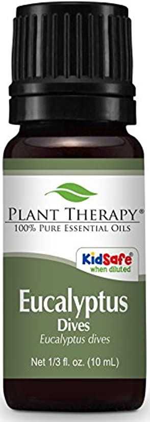 Plant Therapy Eucalyptus Dives (Peppermint) Essential Oil 10 mL (1/3 oz) 100% Pure, Undiluted, Therapeutic Grade