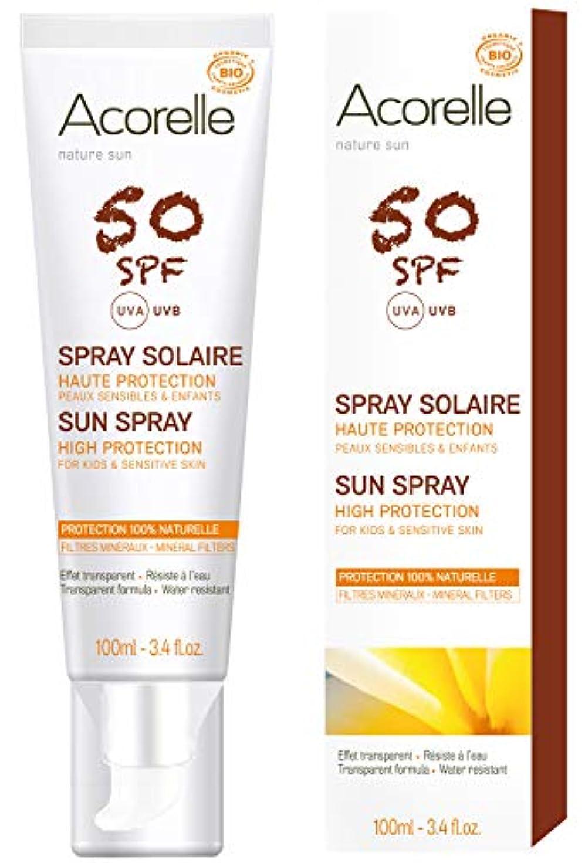 許可必需品化粧アコレル サンプロテクションスプレー 50 SPF50/PA++++ 100ml