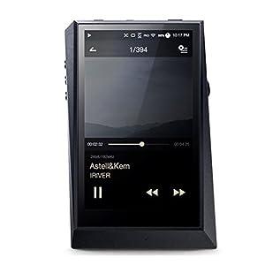 アユート Astell&Kern ハイレゾプレーヤー AK300 64GB ミッドナイトブラック  AK300-64GB-BLK