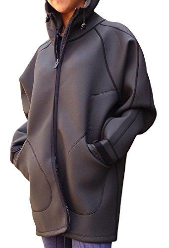 AROPEC/アロペック ウエットスーツ素材で作ったアウトドアコート 『ボートコート/2mmスキンタイプ』男女兼用
