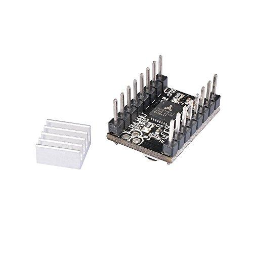 MKS-TMC2100ステッピングモータドライバボード3Dプリンタ用ヒートシンク付き超低静音駆動