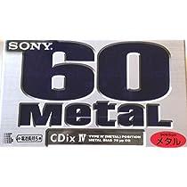 SONY メタルテープ CDix IV Metal (60分)