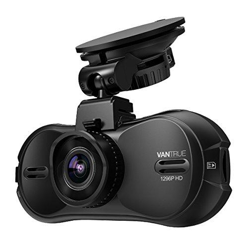 VANTRUE ドライブレコーダー R3 300万画素 1296P スーパーHD 駐車監視/170度 広角視野/G-センサー/HDR 暗視機能搭載/1.5インチ液晶ディスプレイ/衝撃録画/動体検知/常時録画【18ヶ月保証】12V 24V車に対応 (GPS部品別売)