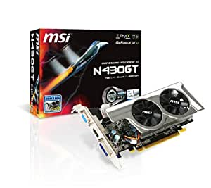 MSI グラフィックボード for NVIDIA N430GT TWINFROZR MINI 1G