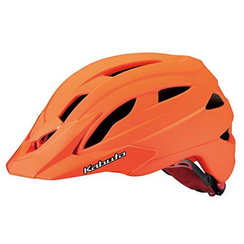 OGK KABUTO(オージーケーカブト) ヘルメット FM-8 マットオレンジ サイズ:M/L