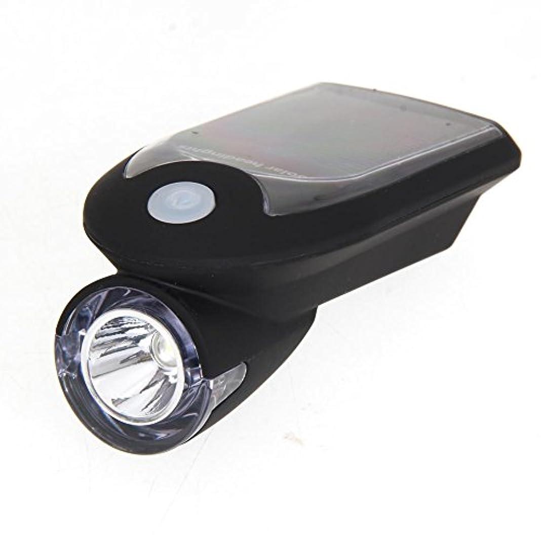 高さ翻訳者メーカーMatefieldjp 自転車ライト LEDソーラー前照灯 ヘッドライト USB充電式 懐中電灯 高輝度