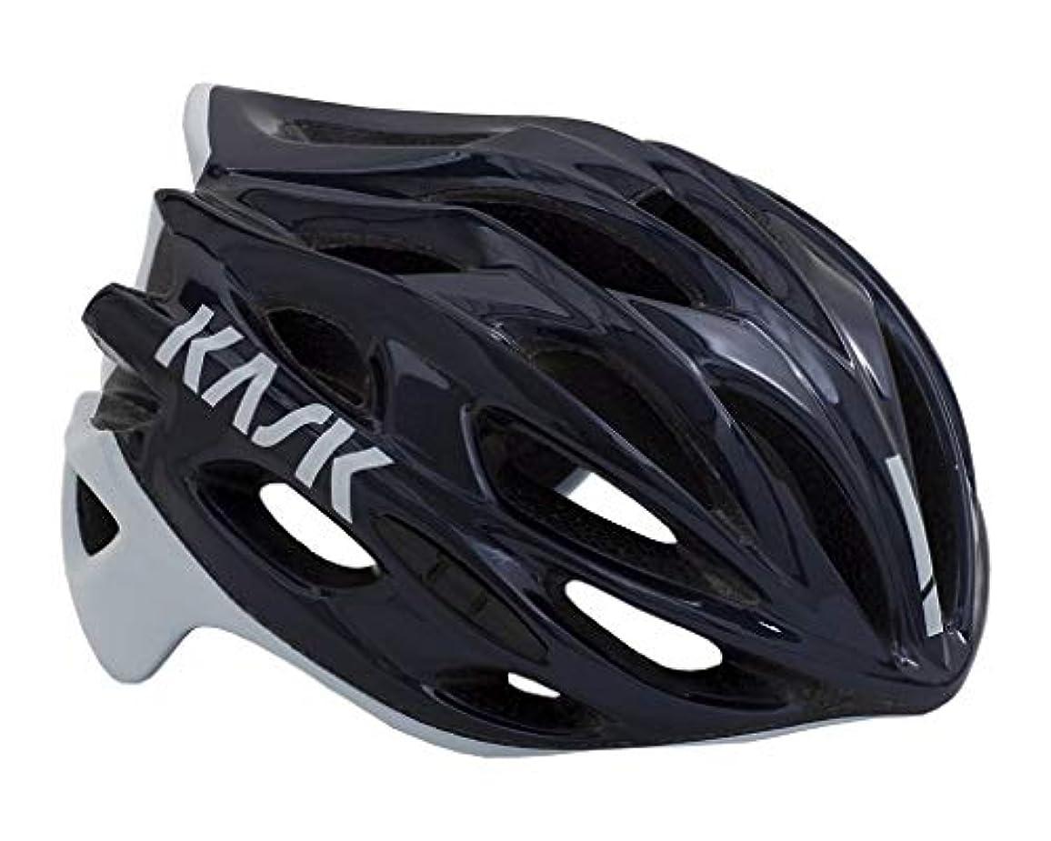 パワー雇う幾何学KASK(カスク) ヘルメット MOJITO X NAVY BLU/WHT L サイズ:59-62cm
