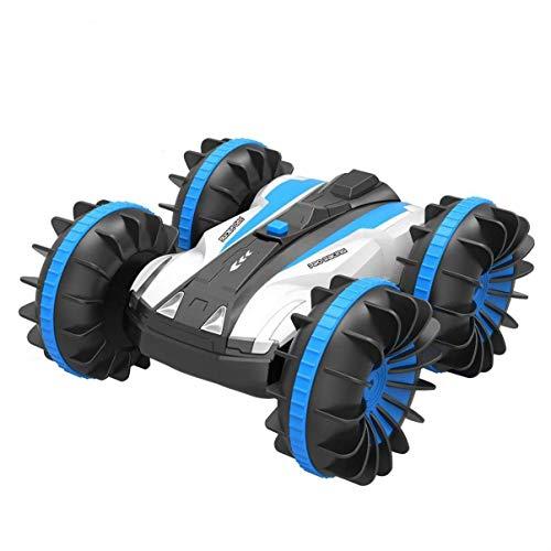 ALLCACA ラジコンカー 四駆 水陸両用スタントカー 360回転 両面走行特技を持つ 子供玩具