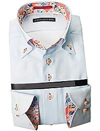 RHD176-011 (スタイルワークス) メンズ長袖ワイシャツ | 青
