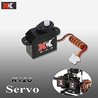 XKオリジナルK120-006サーボK120 3D 6CH RCヘリコプターXK.2.K120.006