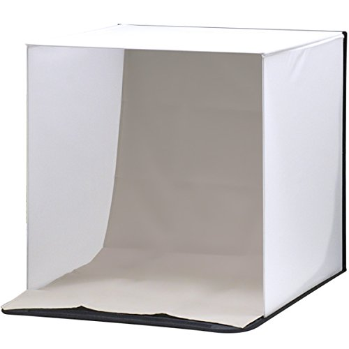 ottostyle.jp 撮影ボックス 70×70cm 【簡単組み立て式】 3バリエーション背景付き(ブラック/ホワイト/グレー)【フィギュアや模型、小物などの撮影ブースに最適!