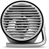 Fashionwu USB扇風機 小型 縦置き 3段階風量調整 静音 羽根なし オフィス