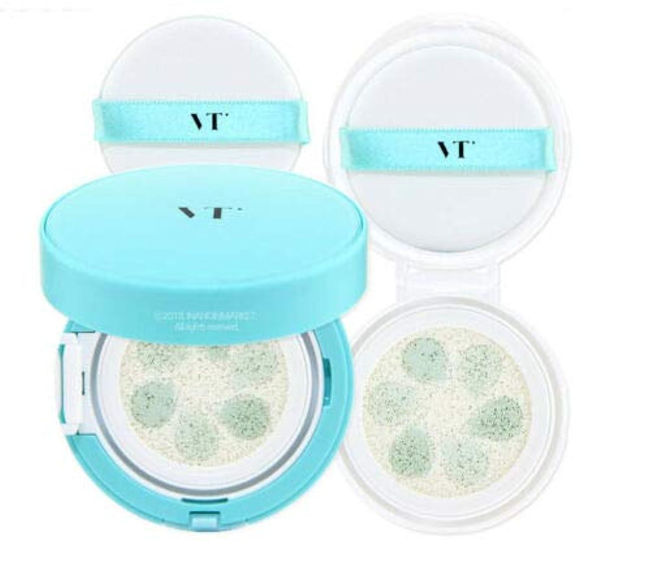 消費うなり声お茶VT Cosmetic Phyto Sun Cushion サンクッション 本品11g + リフィール11g, SPF50+/PA++++