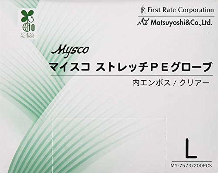 句刃マイスコストレッチPEグローブ MY-7573(L)200????