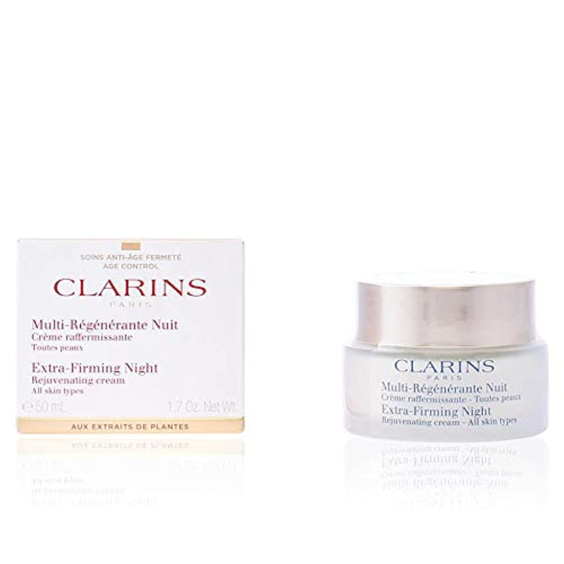 化学分注するベッドを作るクラランス CLARINS ファーミング EX ナイトクリーム オールスキン [並行輸入品]