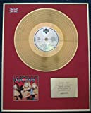 BANANARAMA - Limited Edition CD 24 Carat Gold Coated LP Disc - WOW