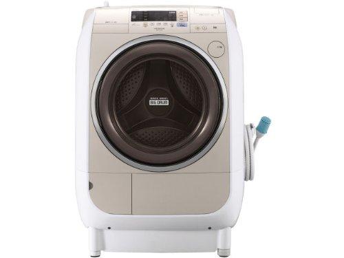 日立 9.0kg ドラム式洗濯乾燥機(左開き)風アイロン ビッグドラム BD-V2100L-C