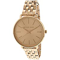 Michael Kors Women's MK3897 Analog Quartz Rose Gold Watch