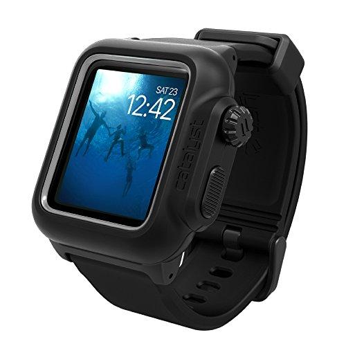 catalyst Apple Watch 42mm シリーズ 2 完全防水ケース ブラック 【日本正規代理店品】 CT-WPAW1642-BK