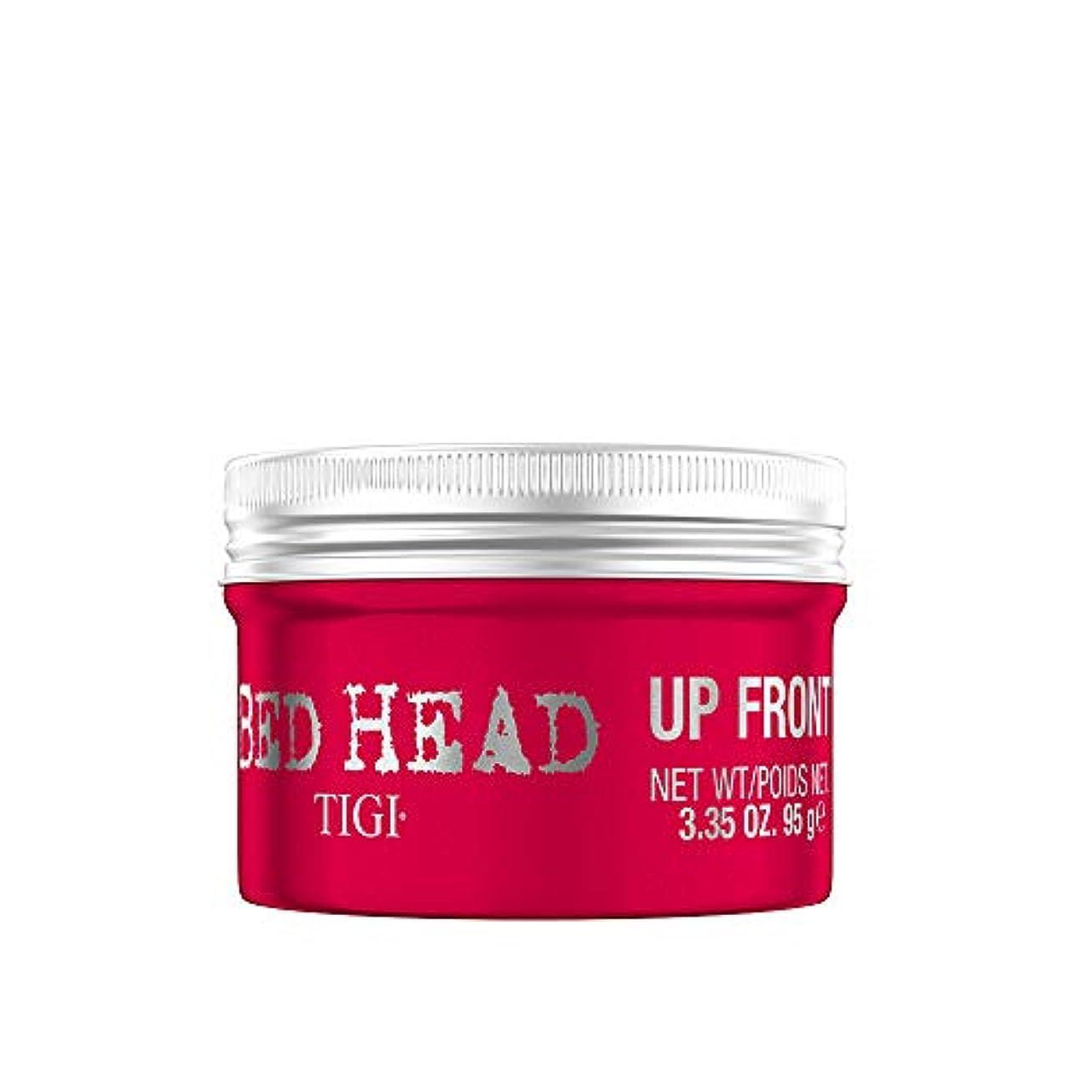 打ち負かすタンパク質消すティジー ベッドヘッドアップフロントロッキングジェルポマード 95g