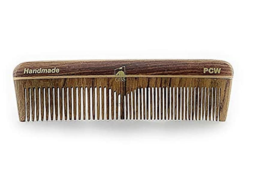 GBS Natural Wood Handmade Pocket Beard and Hair Comb - Comb 5