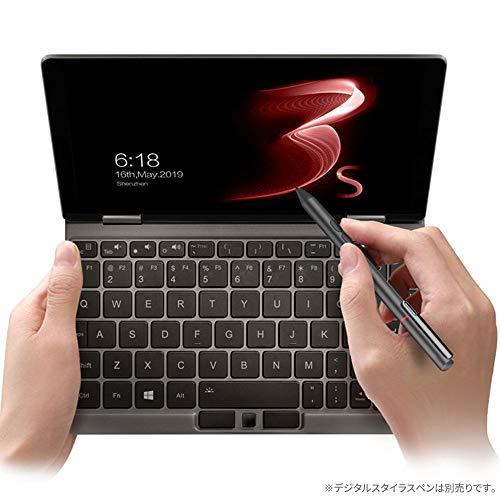 OneMix3Sプラチナ 国内正規版 8.4型 659g 厚さ14mm Windows10搭載2in1(インテル第8世代Core i7-8500Y搭載 /16GB/512GB PCIe SSD/358PPI 2560×1600解像度モニター/4096段階Surfaceペン対応/バックライト付きキーボードキーピッチ18.2mm)