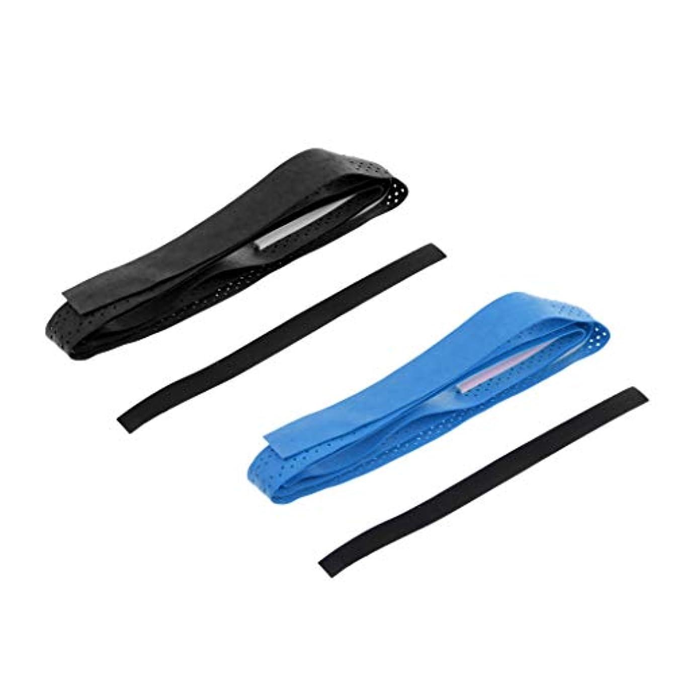重力スタジアム石膏釣り竿 ロッド ハンドル 持ち手 グリップ ストラップ ベルト テープ 通気性 滑り止め 2枚