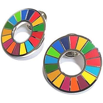 国連本部限定販売 SDGs ピンバッジ 日本未発売 UN 2個セット