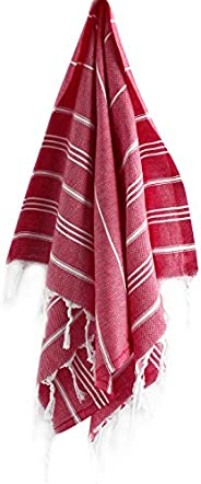 CACALA Pure Series Turkish Hand Towels – Traditional Peshkir & Peshtemal for Bathroom, Kitchen and Baby Ca