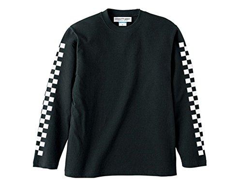 袖CHECKER L/S T-shirt(袖チェッカーロング...