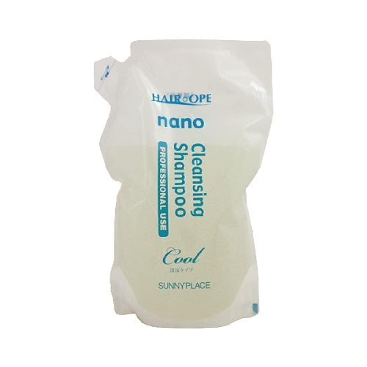 サニープレイス ナノサプリ クレンジング シャンプー 清涼タイプ 4000ml(800ml詰替用×5)