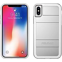 Pelican C37000-000A-MSSL iPhone X Case, Protector iPhone X Case, Metallic Silver