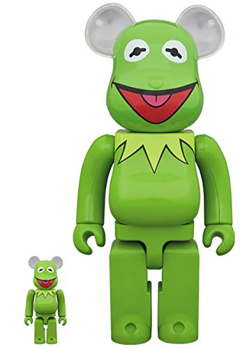 2019 BE@RBRICK Kermit The Frog 100% & 400% MEDICOM TOY ベアブリック kaws カウズ The Muppets カーミット ザ・マペッツ