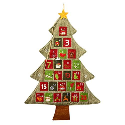 Pinji サンタクロース カレンダー クリスマス アドベン...