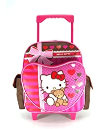 Small Rolling Backpack - Hello Kitty Super Sweet New Bag Girls Book 630348